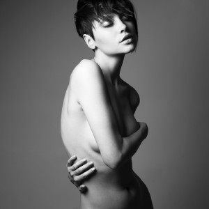 Nude sensual woman